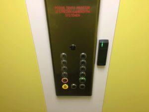 Ovládání výtahu