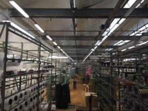 Výměna průmyslového osvětlení