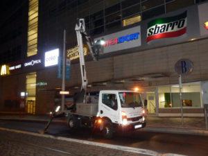 Opravy světelných reklam